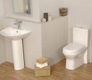 Фаянсовые изделия для ванных комнат и санузлов.