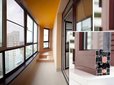 Окна и двери из алюминиевого профиля - main